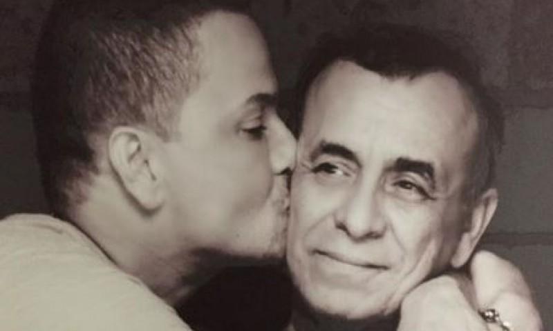 Victor manuelle y su papa