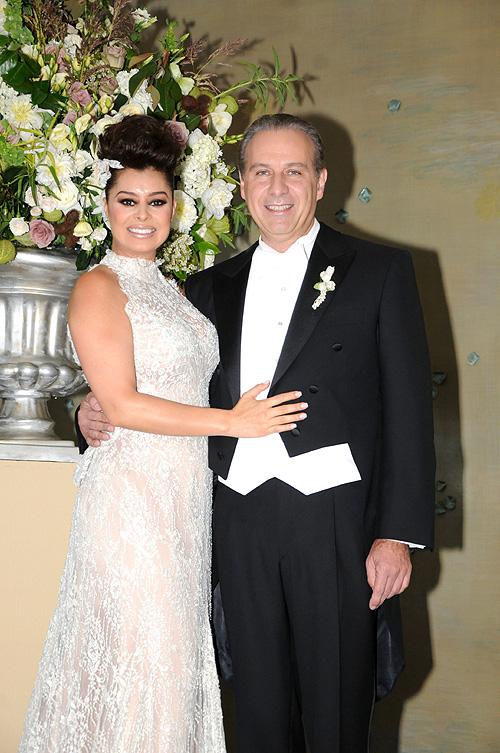 Yadhira Carrillo y Juan Collado, bodas de famosos 2012