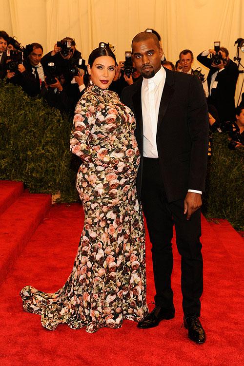 Kim Kardashian, Kanye West, gala, Met