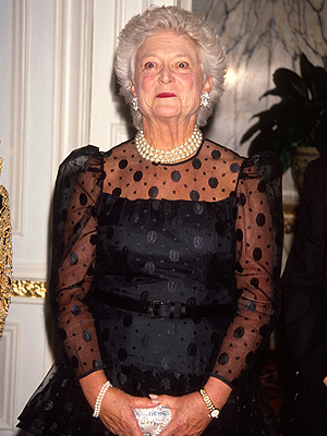 Barbara Bush, Moda primeras damas