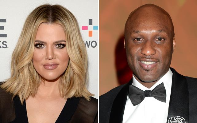 Khloe Kardashian y Lamar Odon