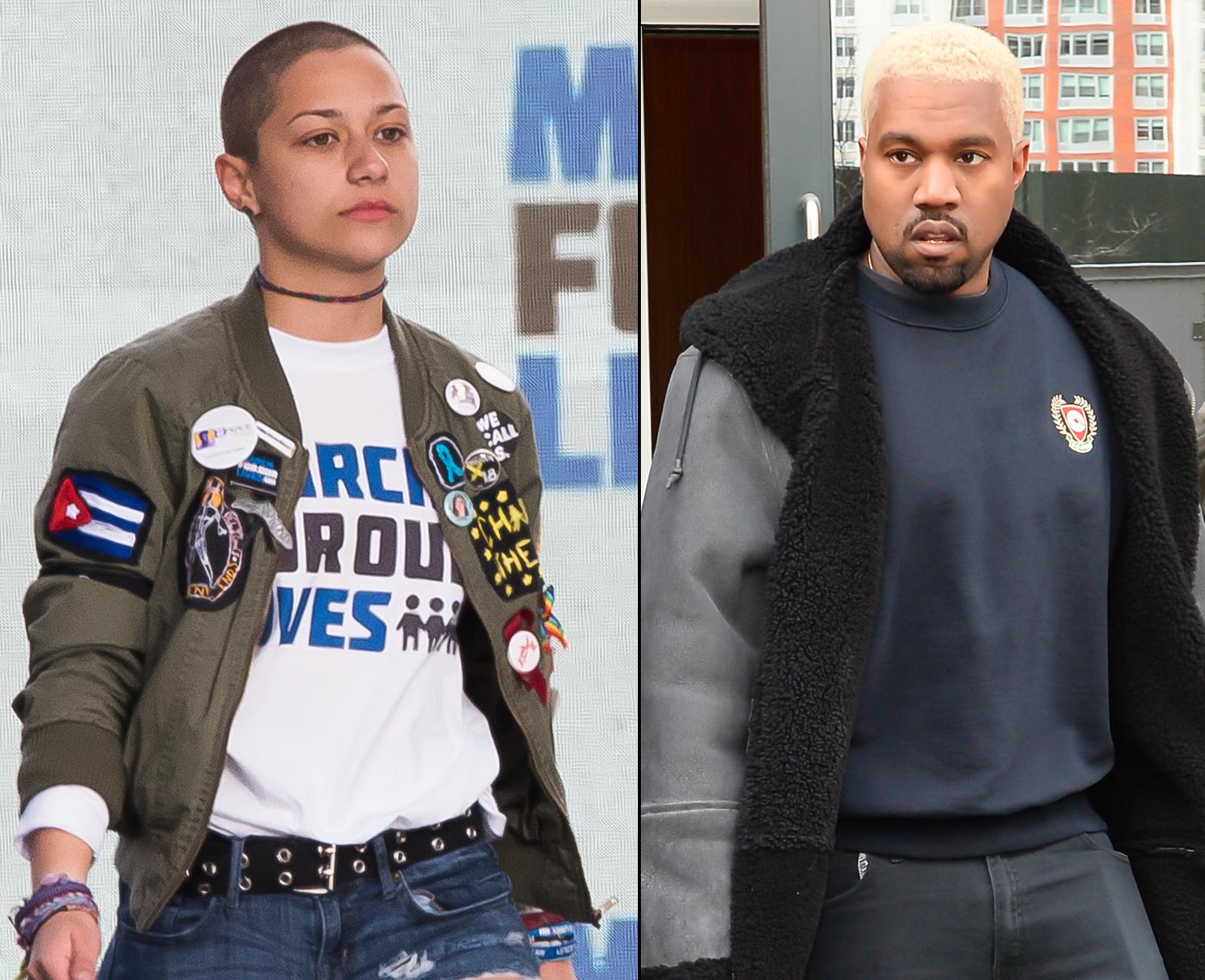 Emma González Kanye West