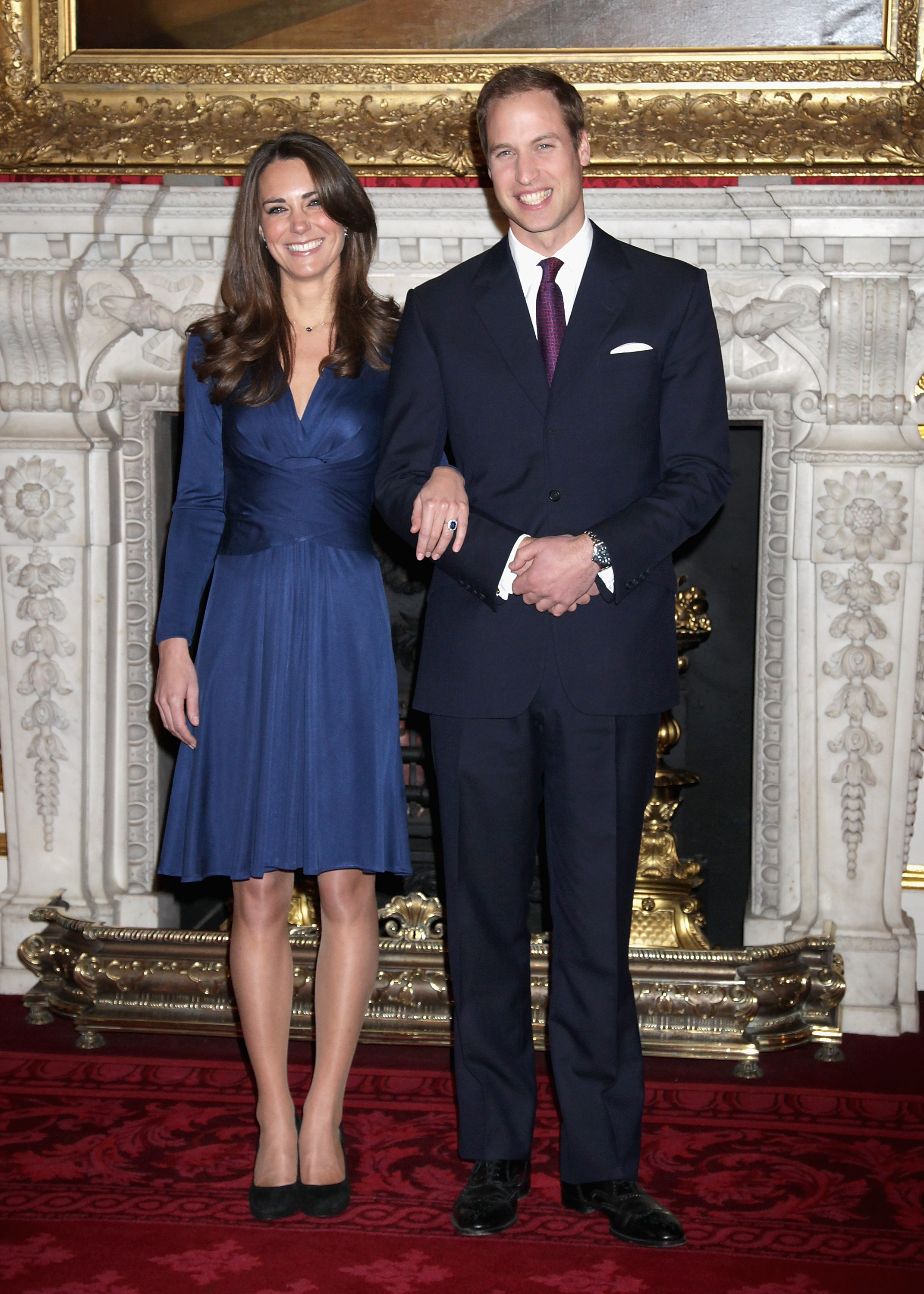Kate Middleton, compromiso, vestido