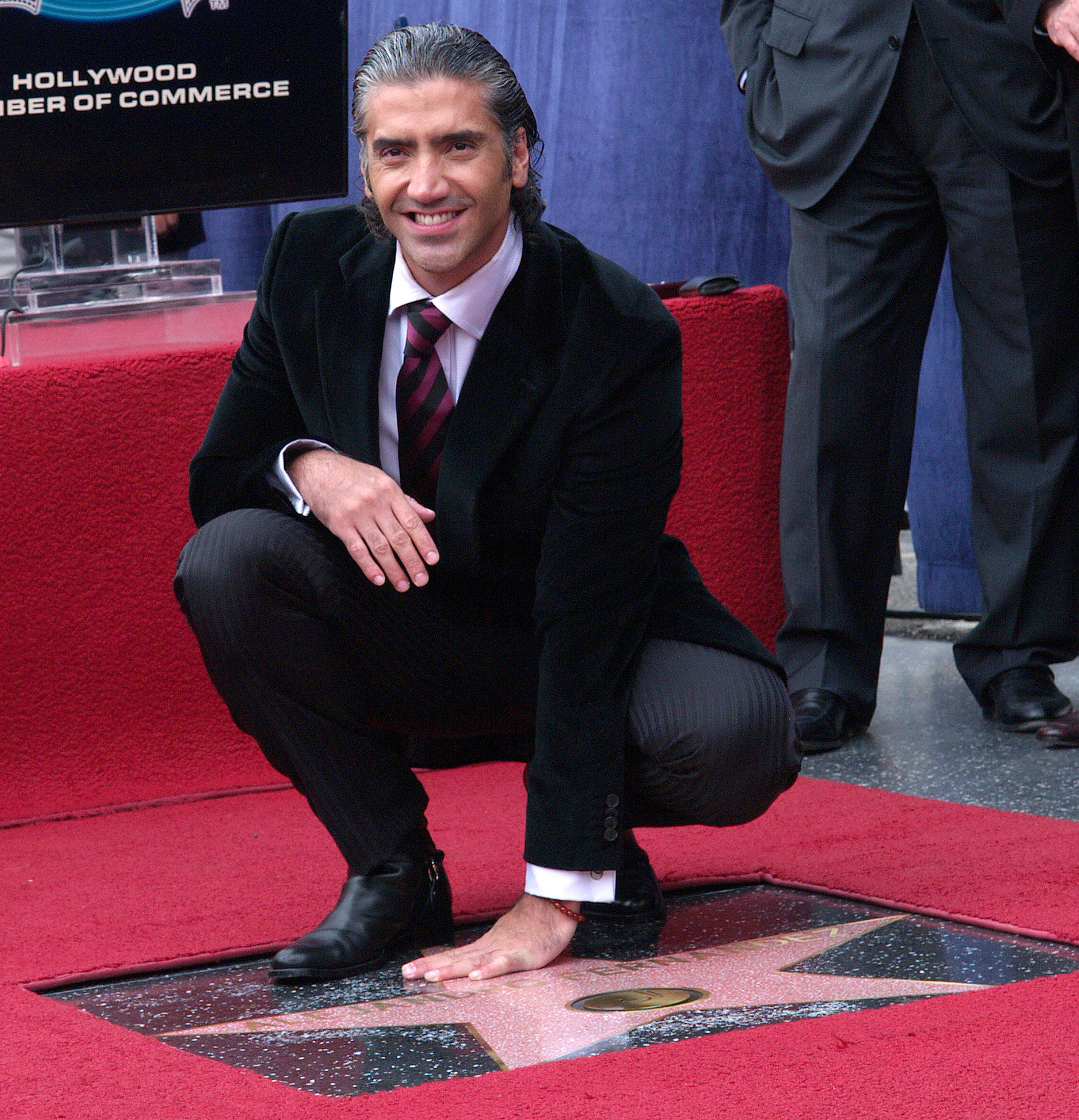 Alejandro Fernandez Honored With a Star on the Hollywood Walk of Fame for His Achievements in Music