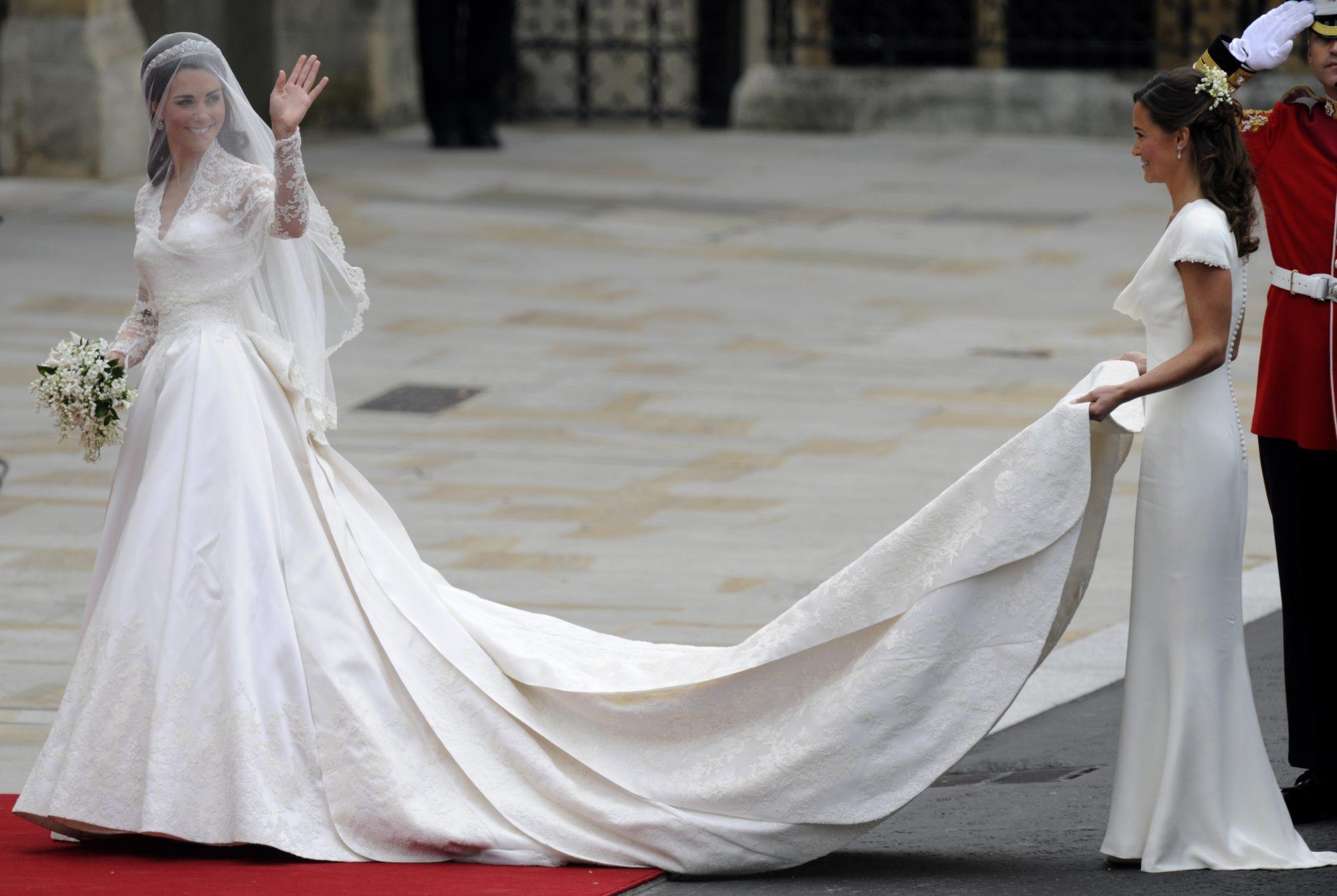 Kate Middleton, traje, novia, boda