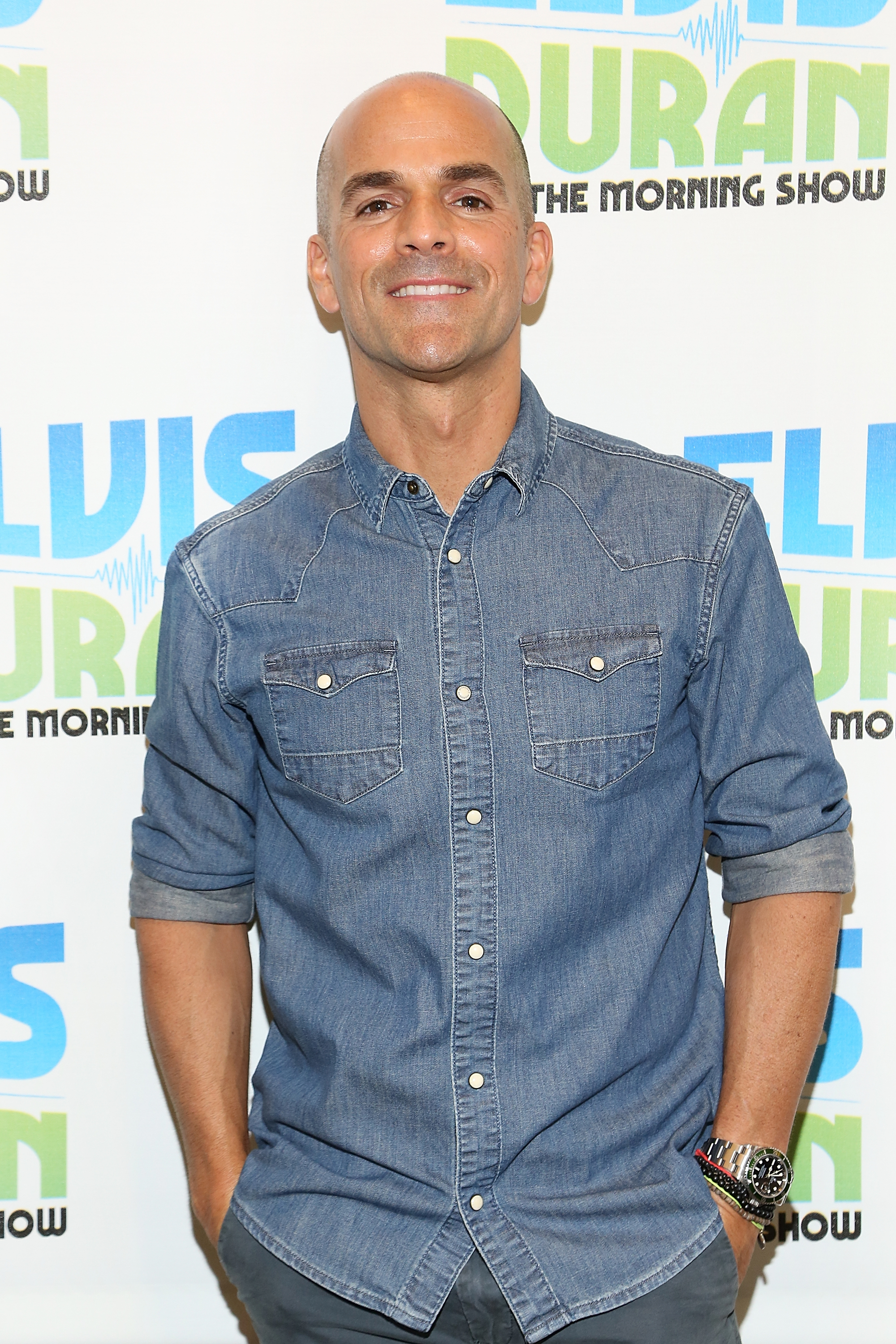 """Marco Borges  Visits """"The Elvis Duran Z100 Morning Show"""""""