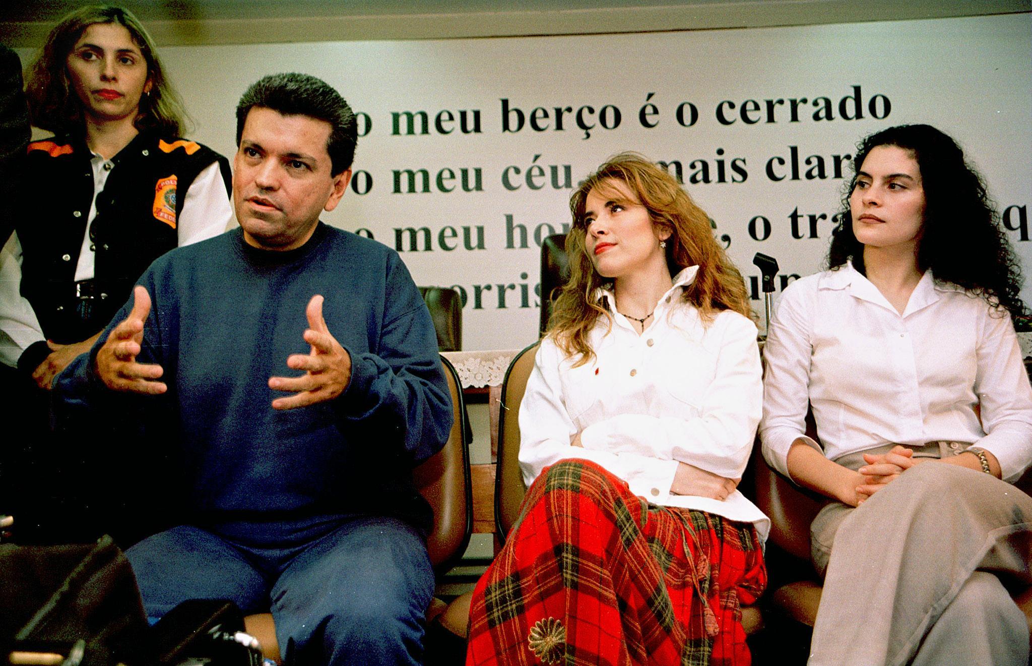 Sergio Andrade, Gloria Trevi y María Raquenel Portilla