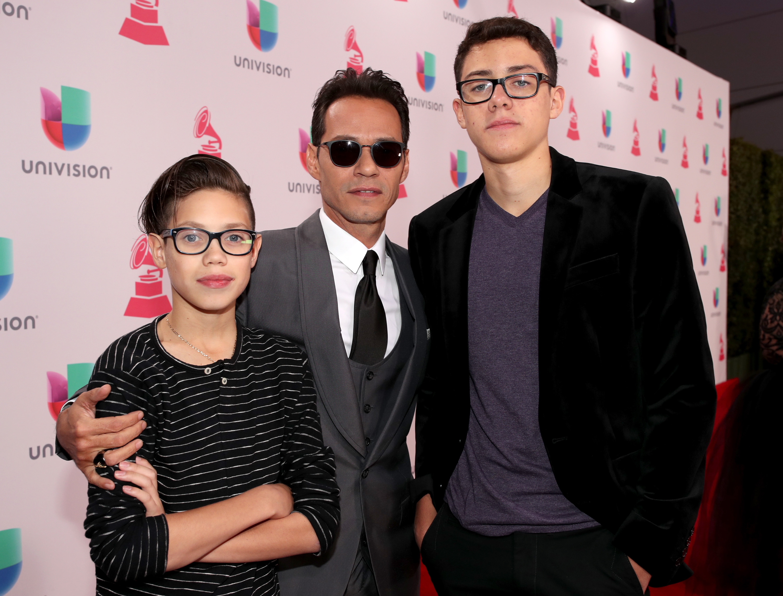 Marc Anthony, Ryan Adrián Muñiz, Cristian Marcus Muñiz