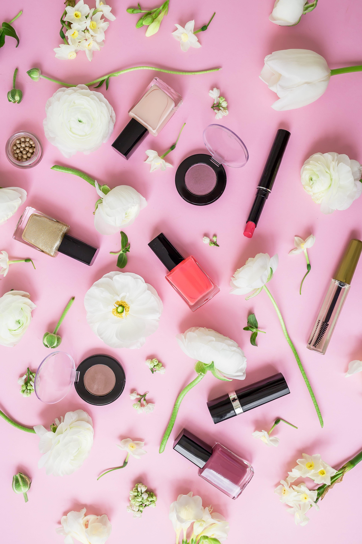 productos, primavera, cosméticos
