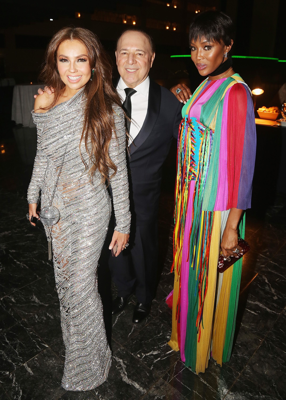 Tommy Mottola, Thalía, Naomi Campbell
