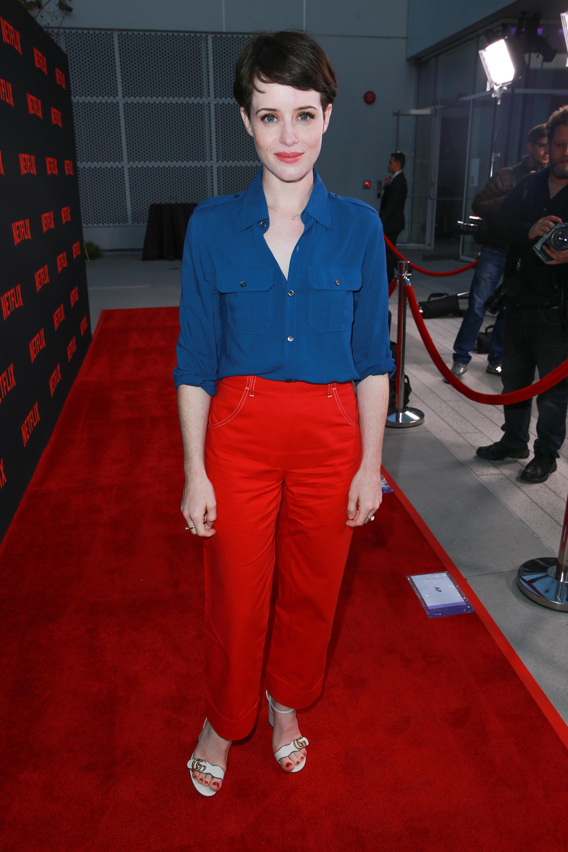 Claire Foy, look, estilo, style