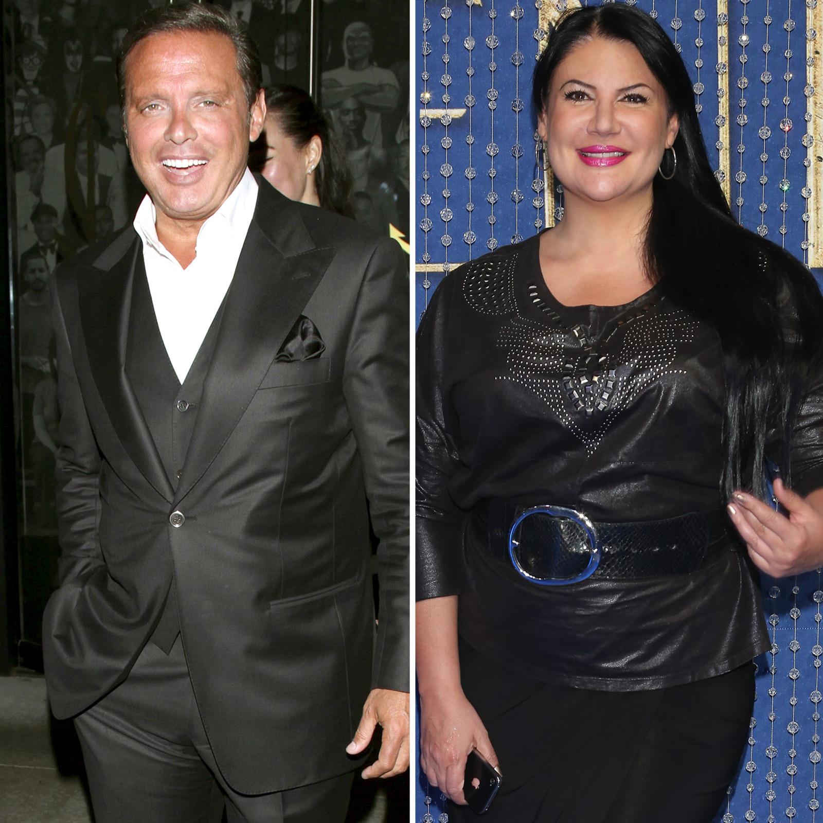 Luis Miguel y Alejandra Avalos