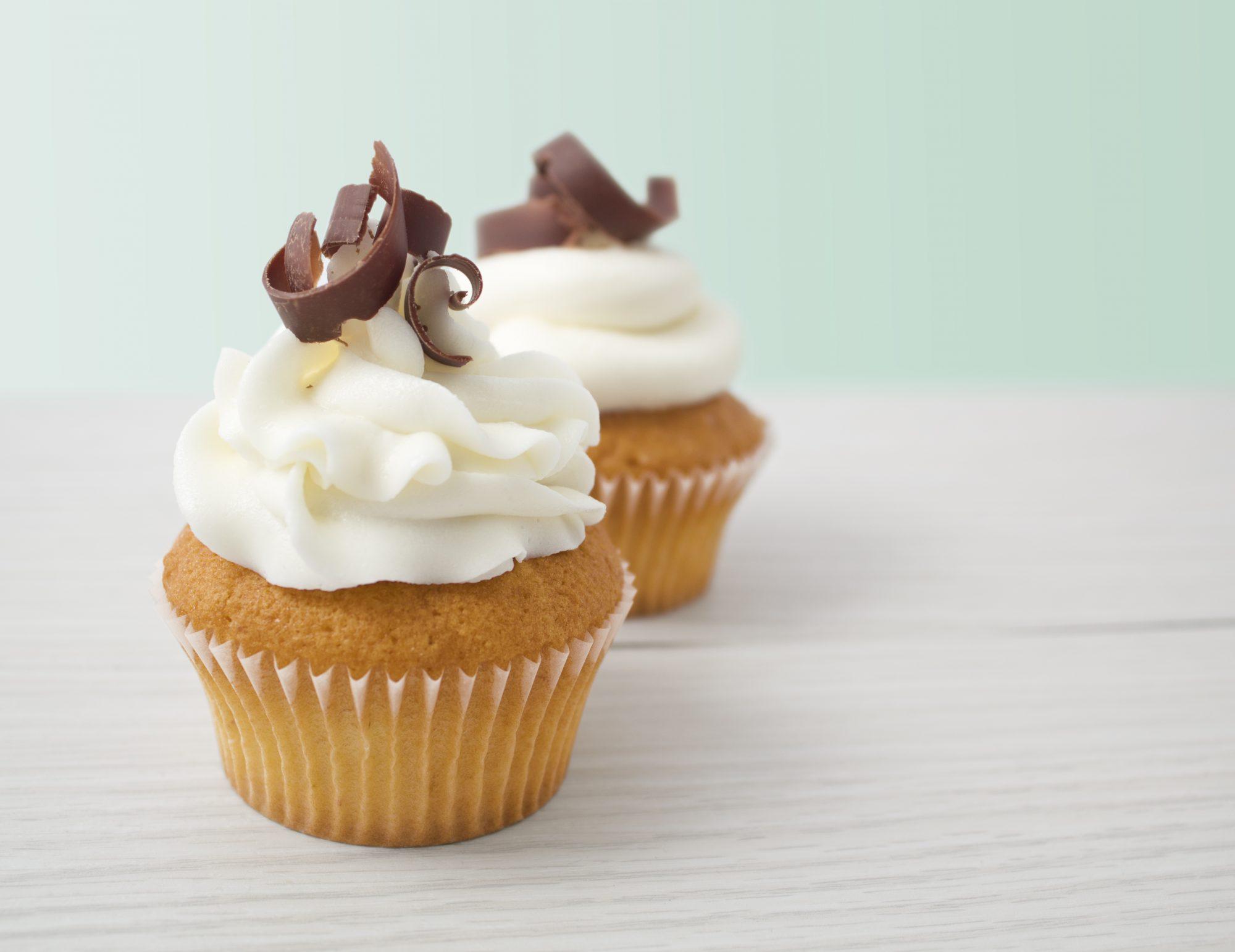 cupcakes de-vainilla-sencillo