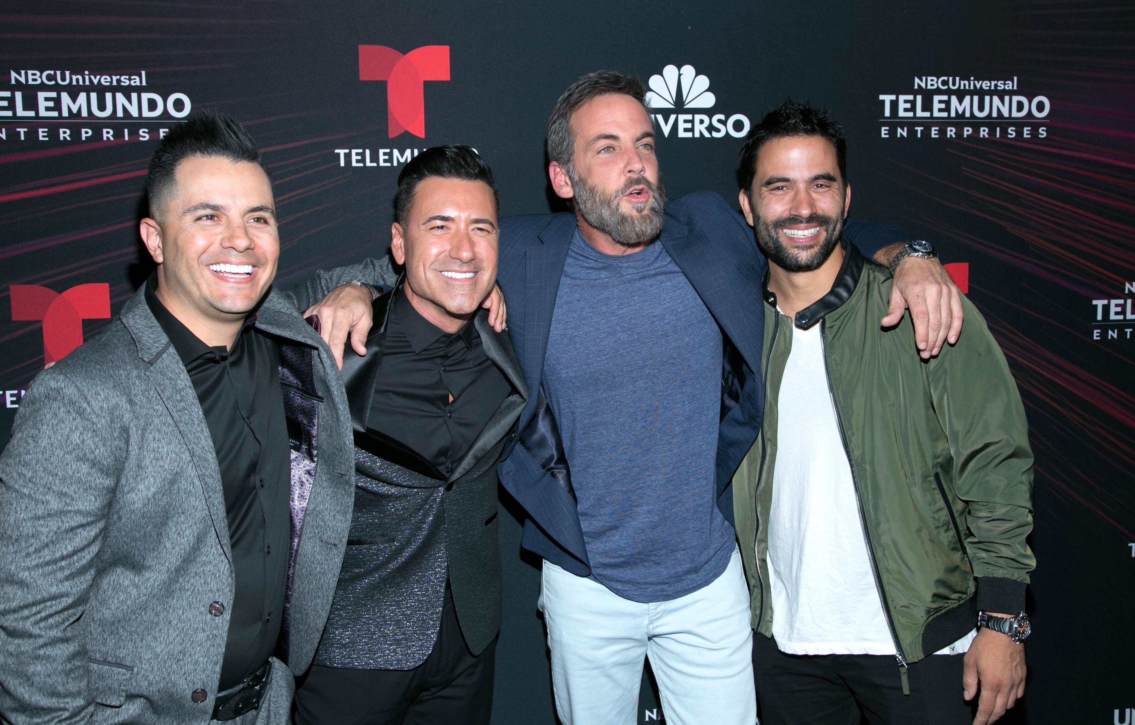 Carlos Ponce, Jorge Bernal, Ignacio Sarracchio