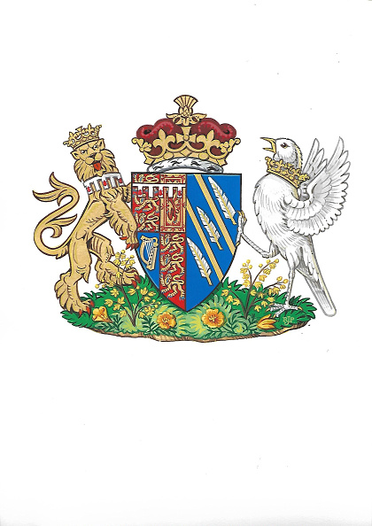 Escudo de armas de la duquesa de Sussex