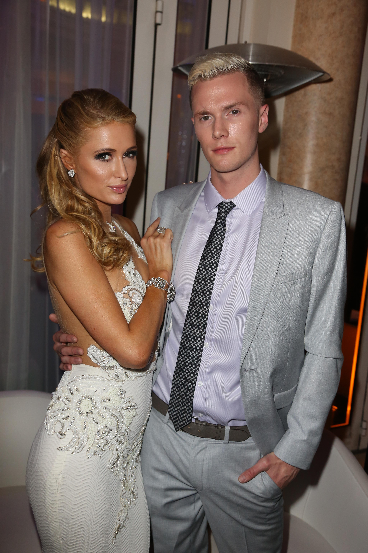 Paris Hilton y Conrad Hilton