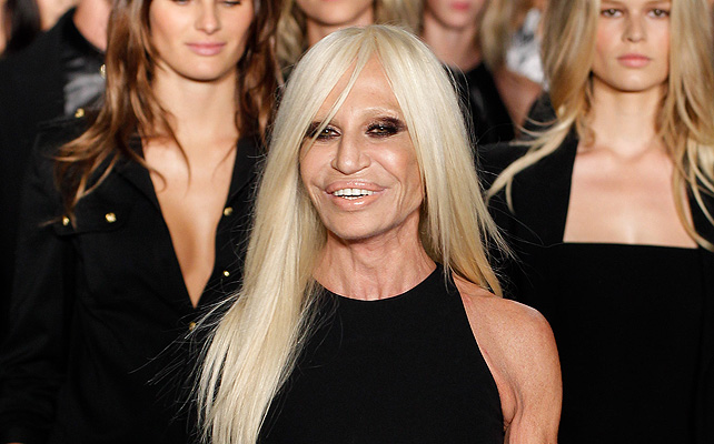 Donatella versace, Moda, Givenchy, modelo, campaña