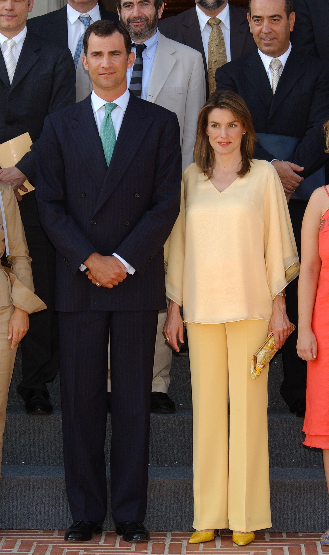 príncipe felipe princesa letizia