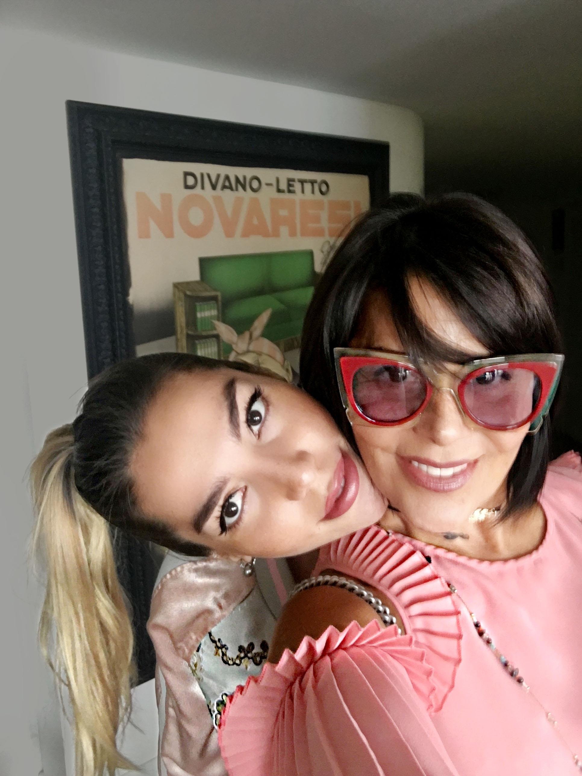 Frida Sofía y Alejandra Guzman