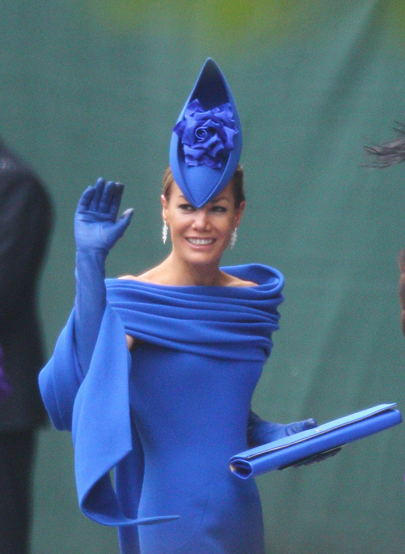 Tara Palmer Tomkinson, fascinador, sombrero, boda real