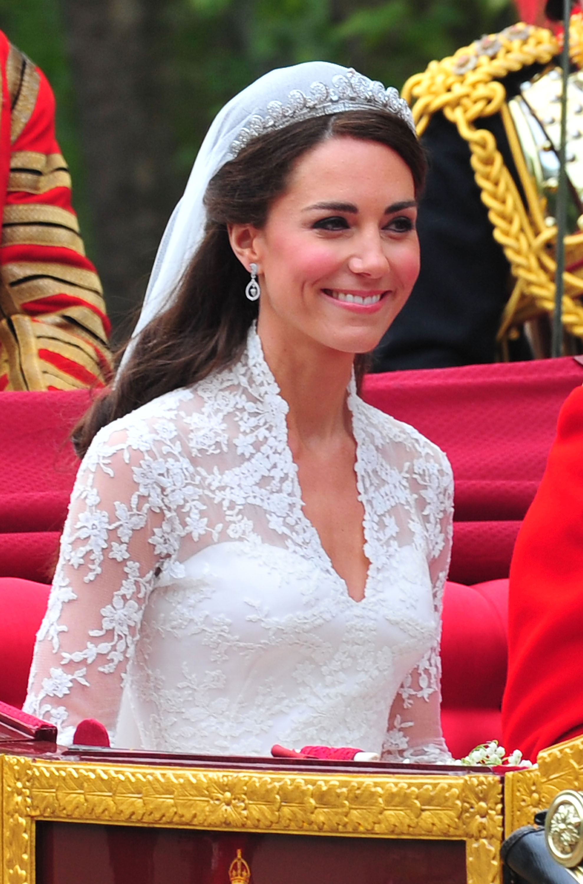 The Wedding of Prince William with Catherine Middleton - Procession