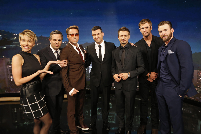 Actores de la saga Avengers
