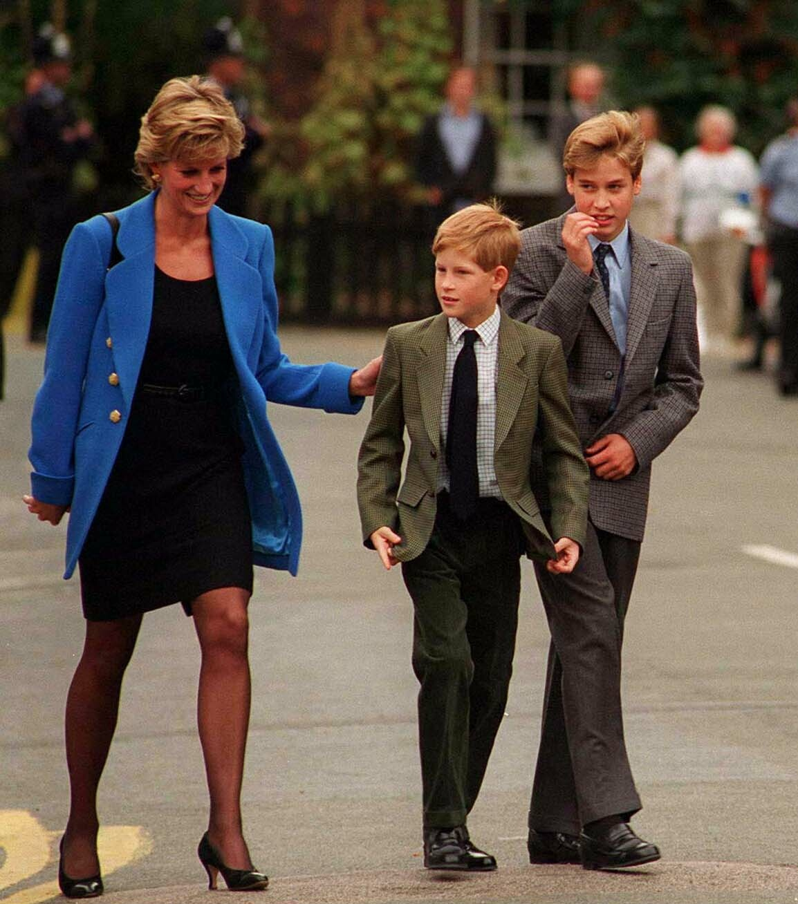 Lady Diana, Príncipe Harry, Príncipe William