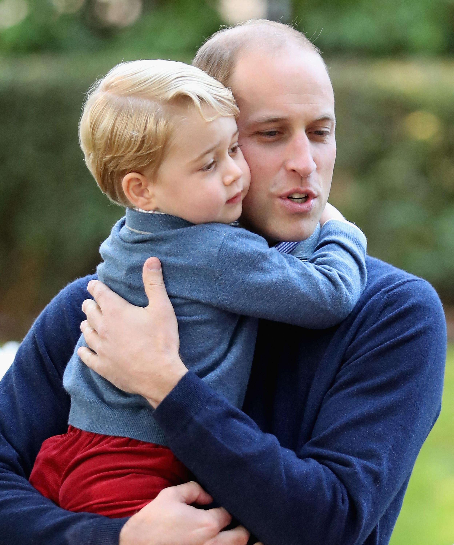 Príncipe William, príncipe George