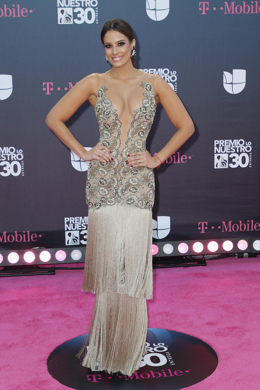 Aleyda Ortiz, look, alfombra, premio lo nuestro, 2018, mejor vestida,