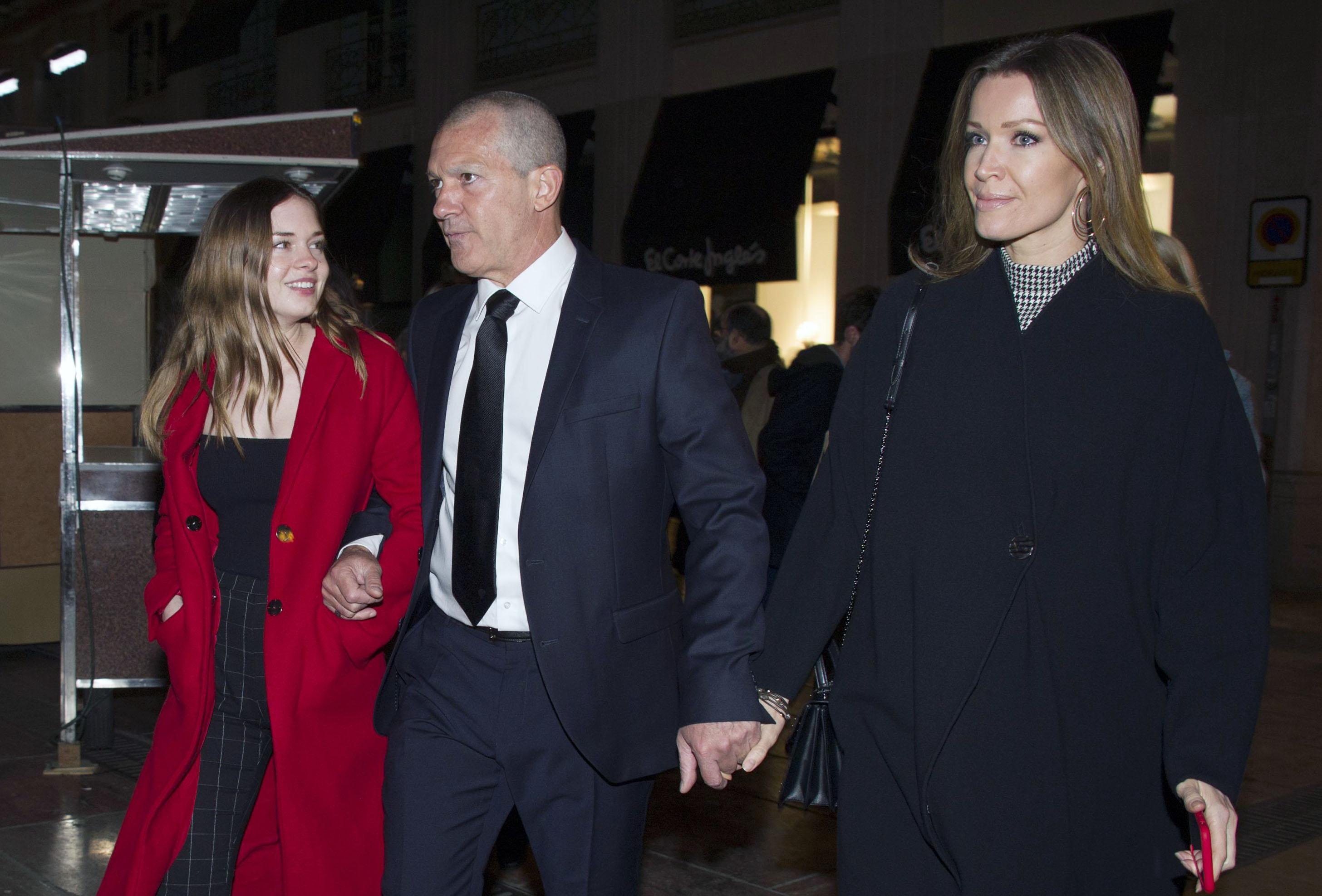 Antonio Banderas, Stella del Carmen Banderas y Nicole Kimpel
