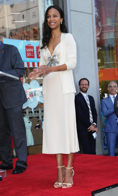 Zoe Saldana, look, estilo, style