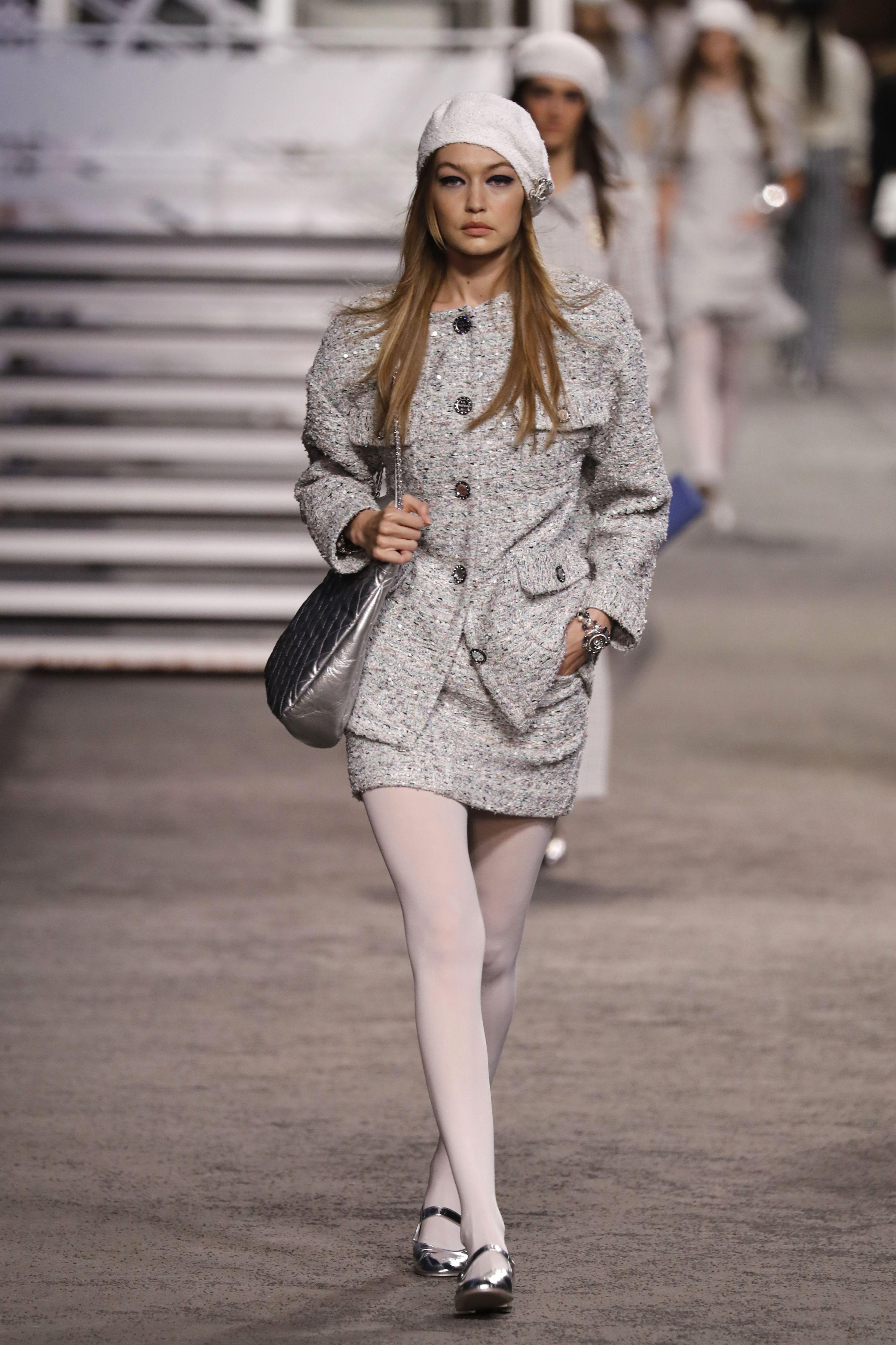 Gigi Hadid, Chanel, desfile, paris, cruise, barco