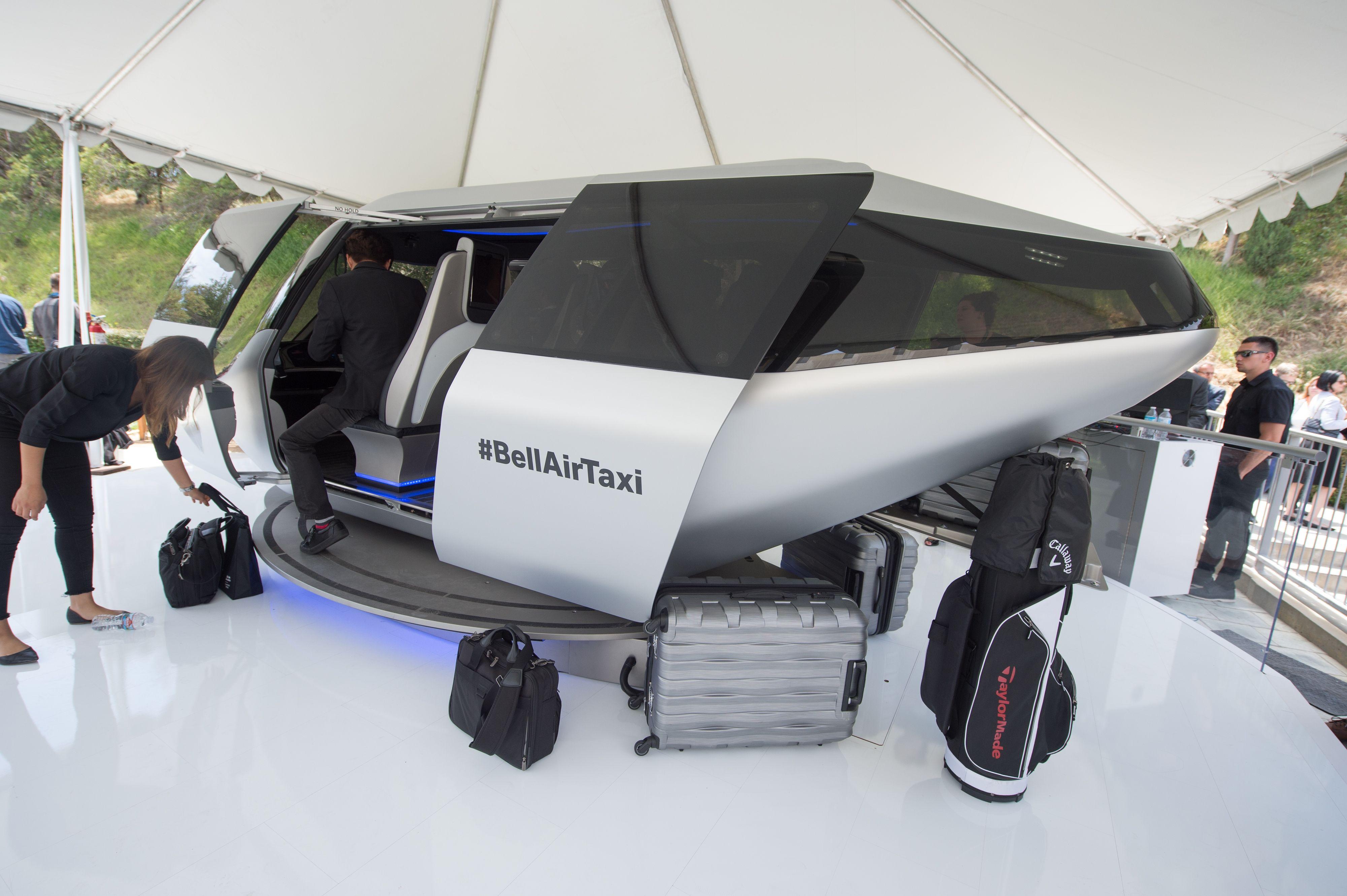 Prototipo de taxi volador