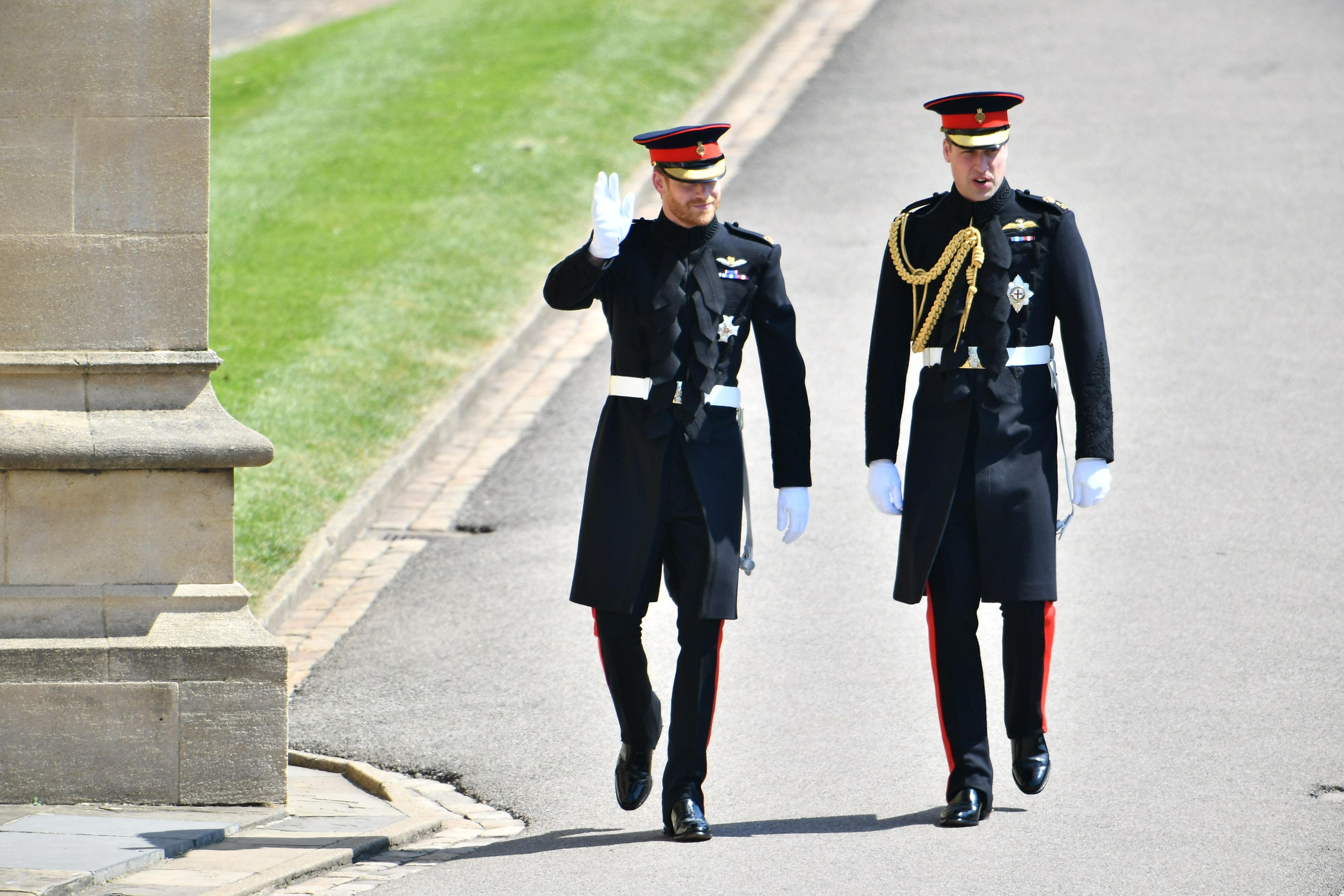 Príncipe Harry, Príncipe William