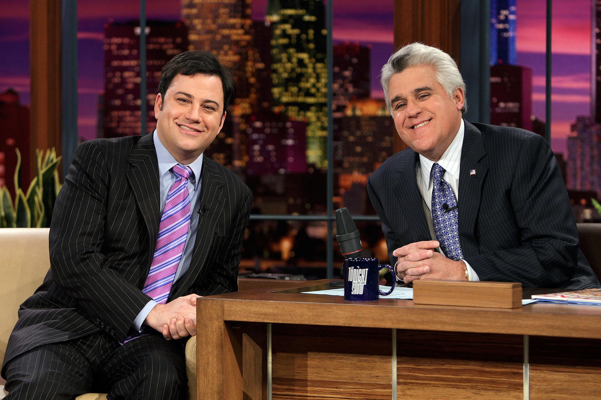 Jimmy Kimmel y Jay Leno