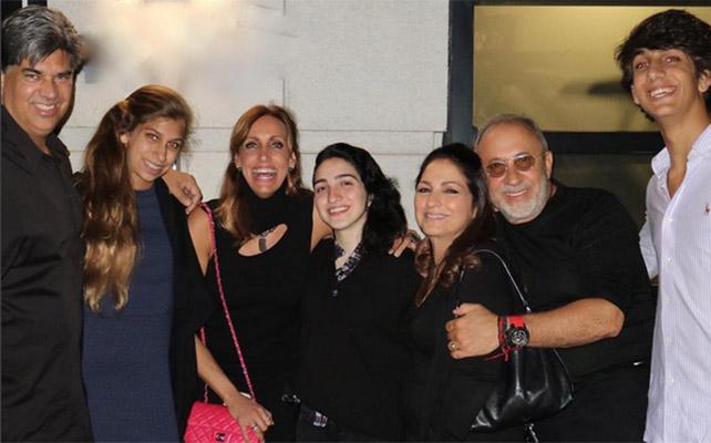 Lili Estefan y Familia