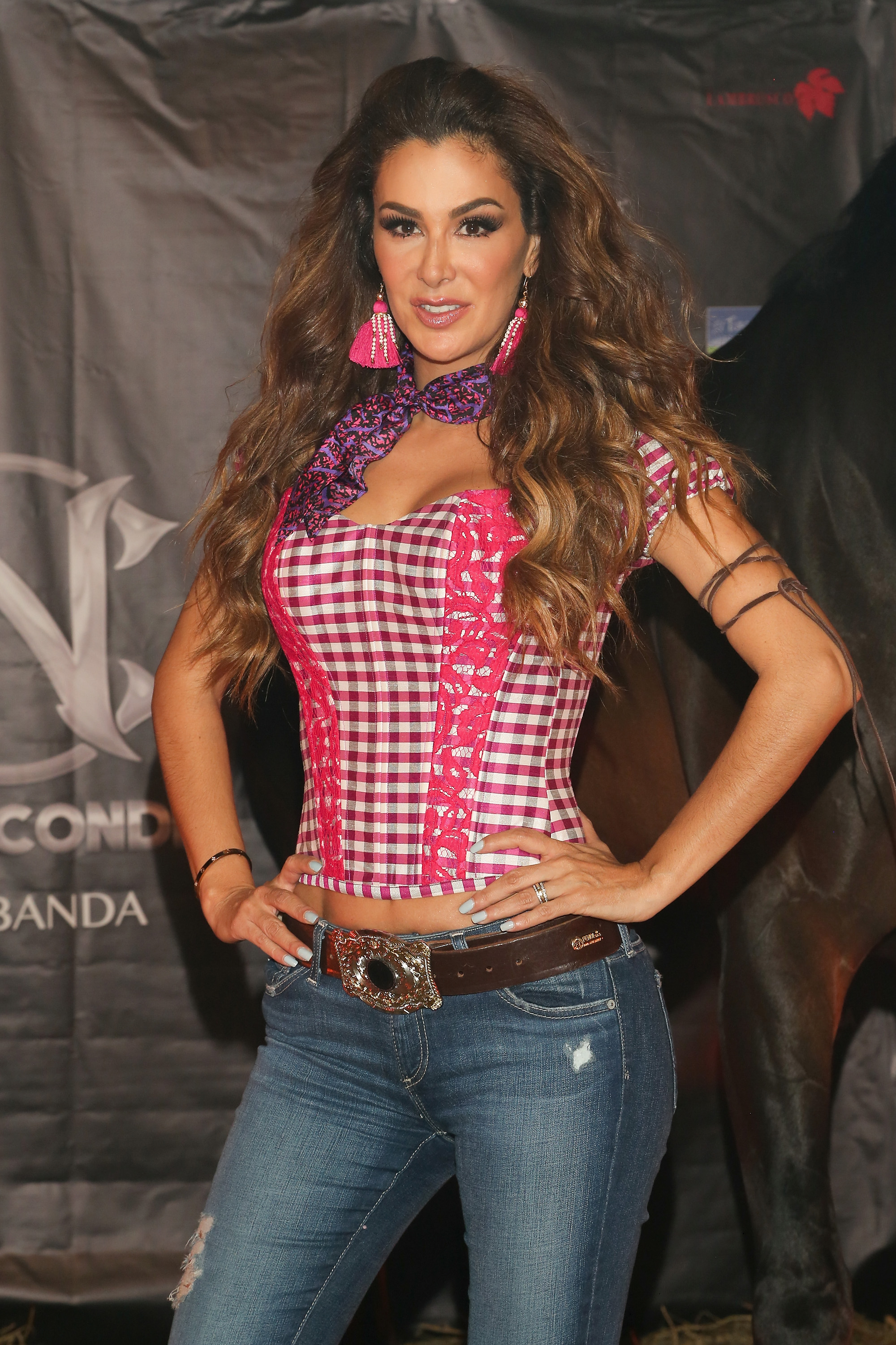 "Ninel Conde Launches Her New Single ""Te Pesara"" - Press Conference And Showcase"