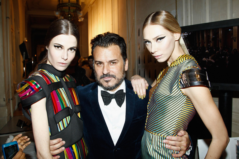 Oscar Carvallo : Front Row - Paris Fashion Week - Haute Couture S/S 2014