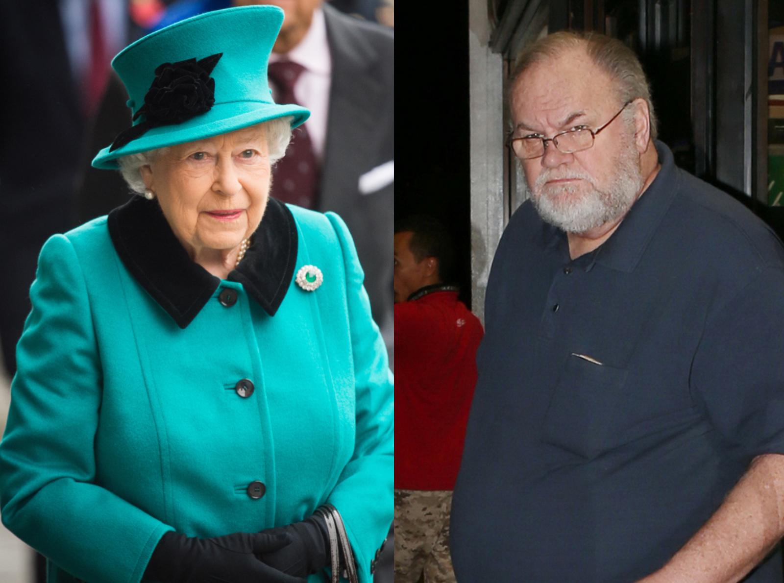 Reina Isabel II Thomas Markle