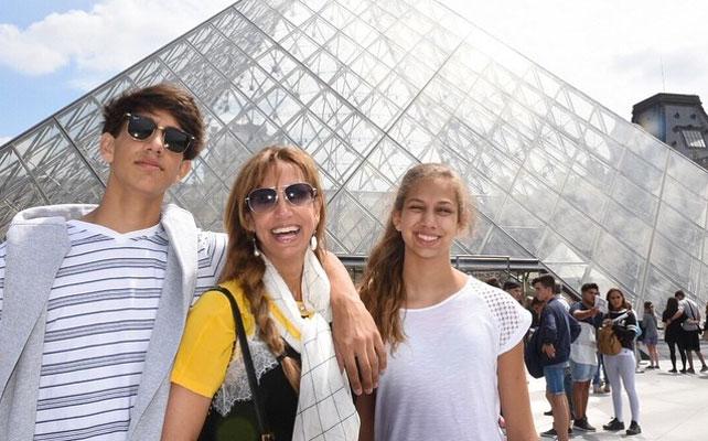 Lili Estefan, Lorenzo y Lina