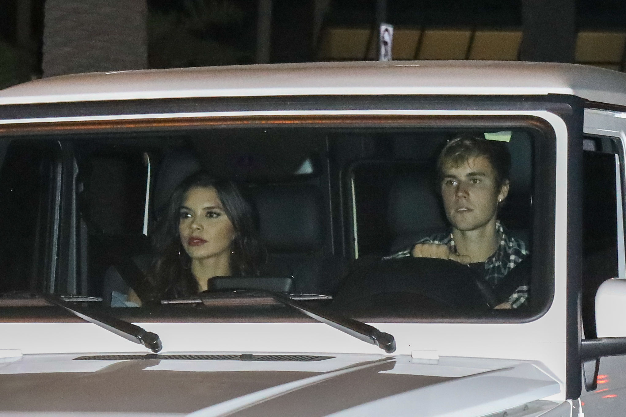 Justin Bieber y Paola Paulín