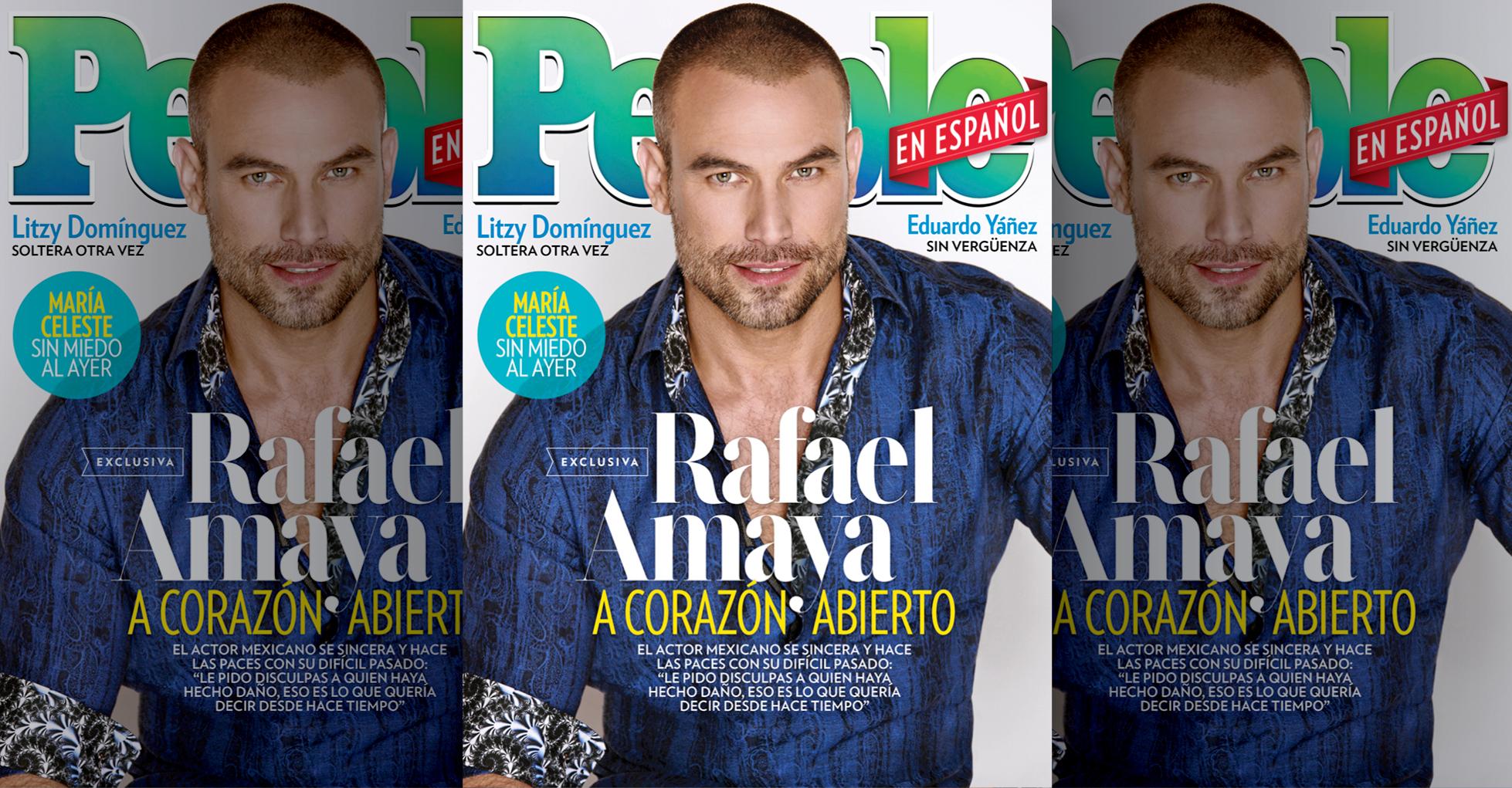 Rafael Amaya - Agosto 2018 cover