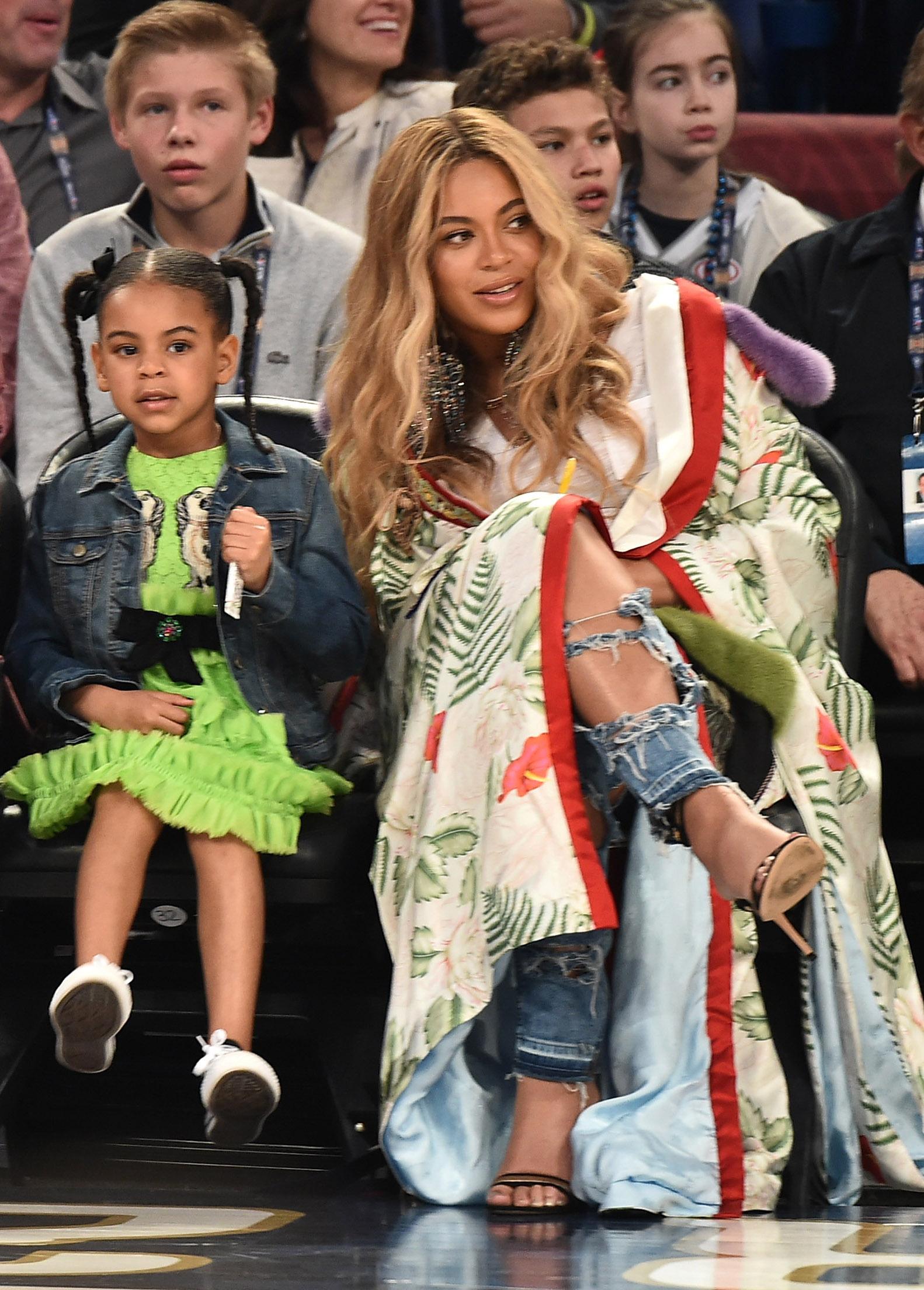 Beyonce Knowles y Blue Ivy Carter