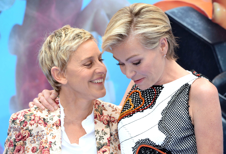 Ellen DeGeneres yPortia de Rossi