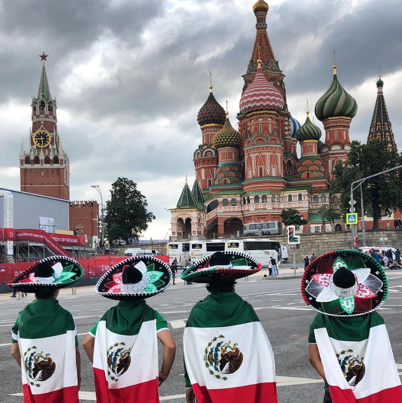 famosos en fiebre del mundial Rusia 20183