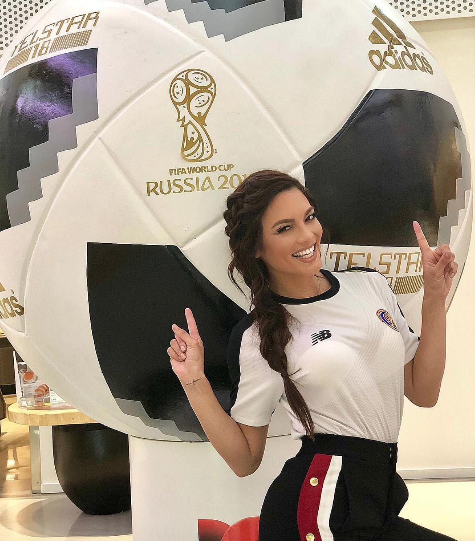 famosos en fiebre del mundial Rusia 20187