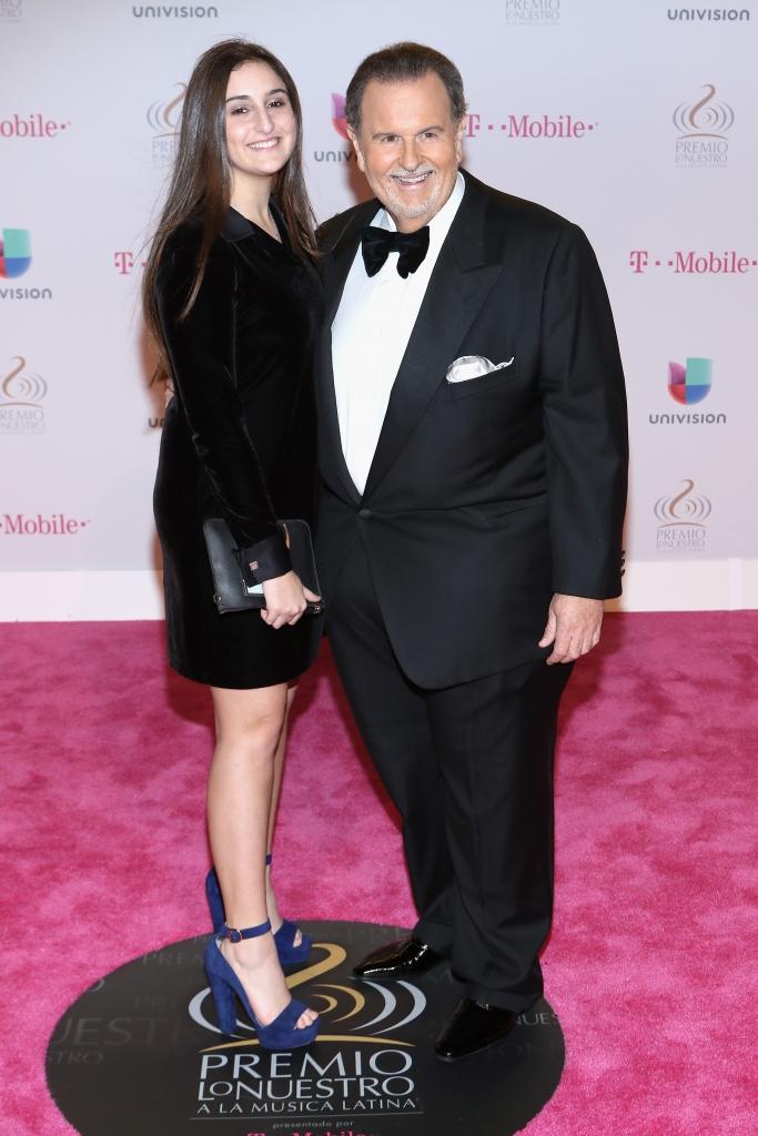 Raul de Molina y su hija Mia