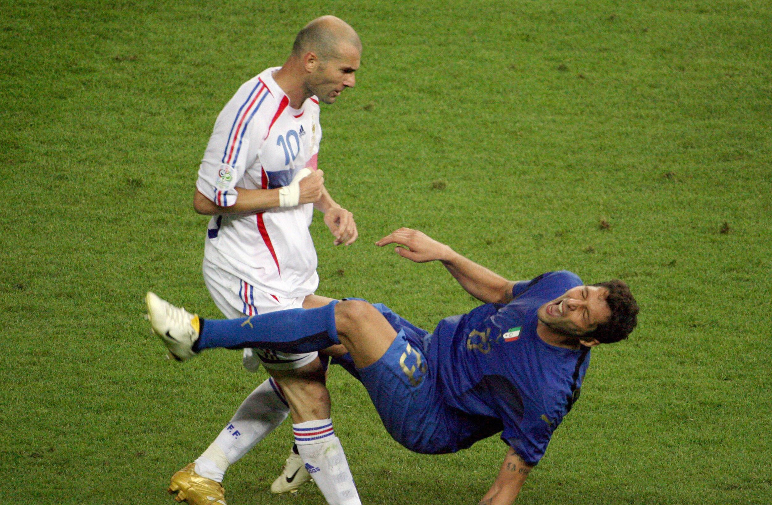 Zinedine Zidane, Marco Materazzi