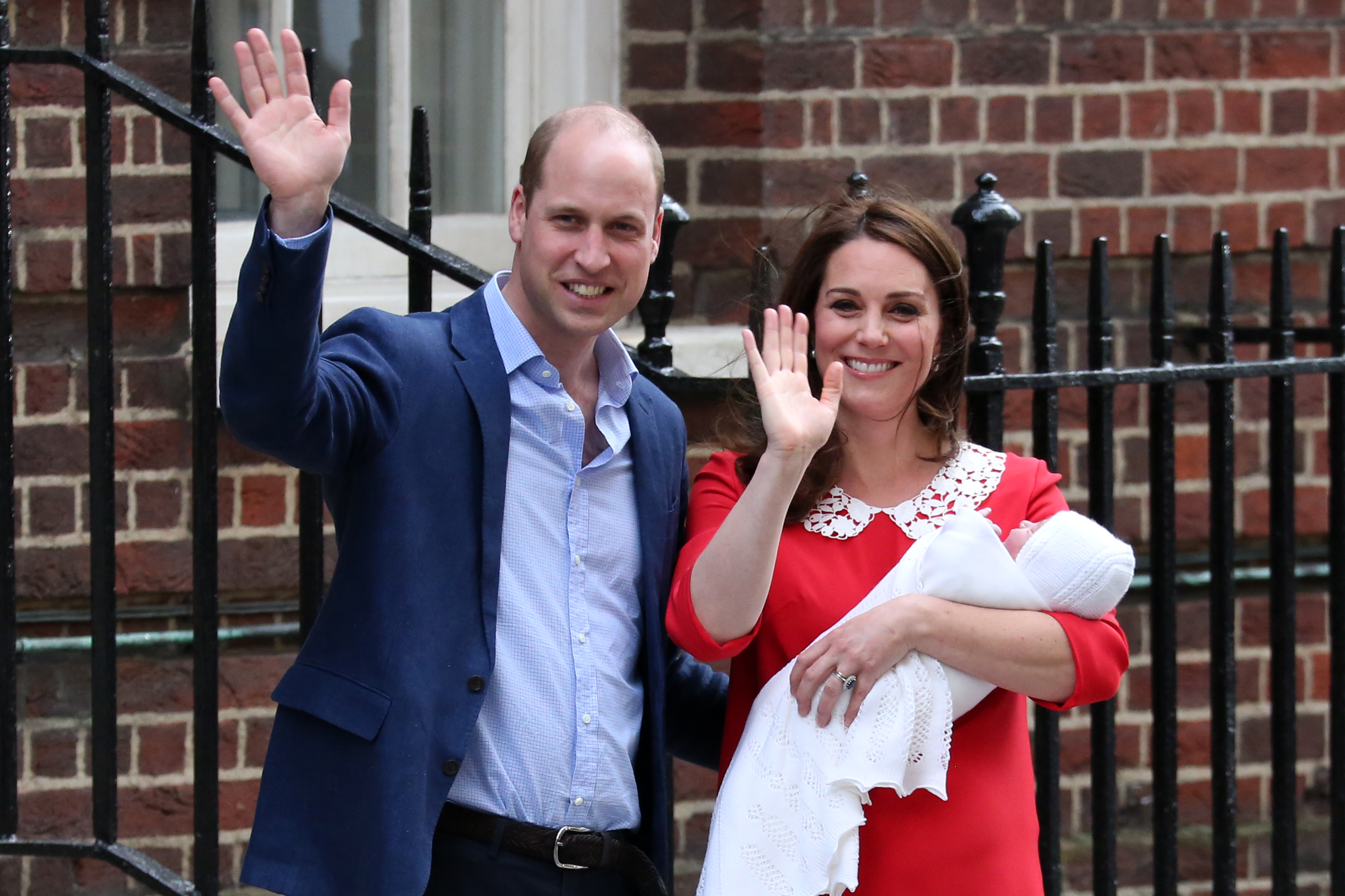 Príncipe William, princesa Kate