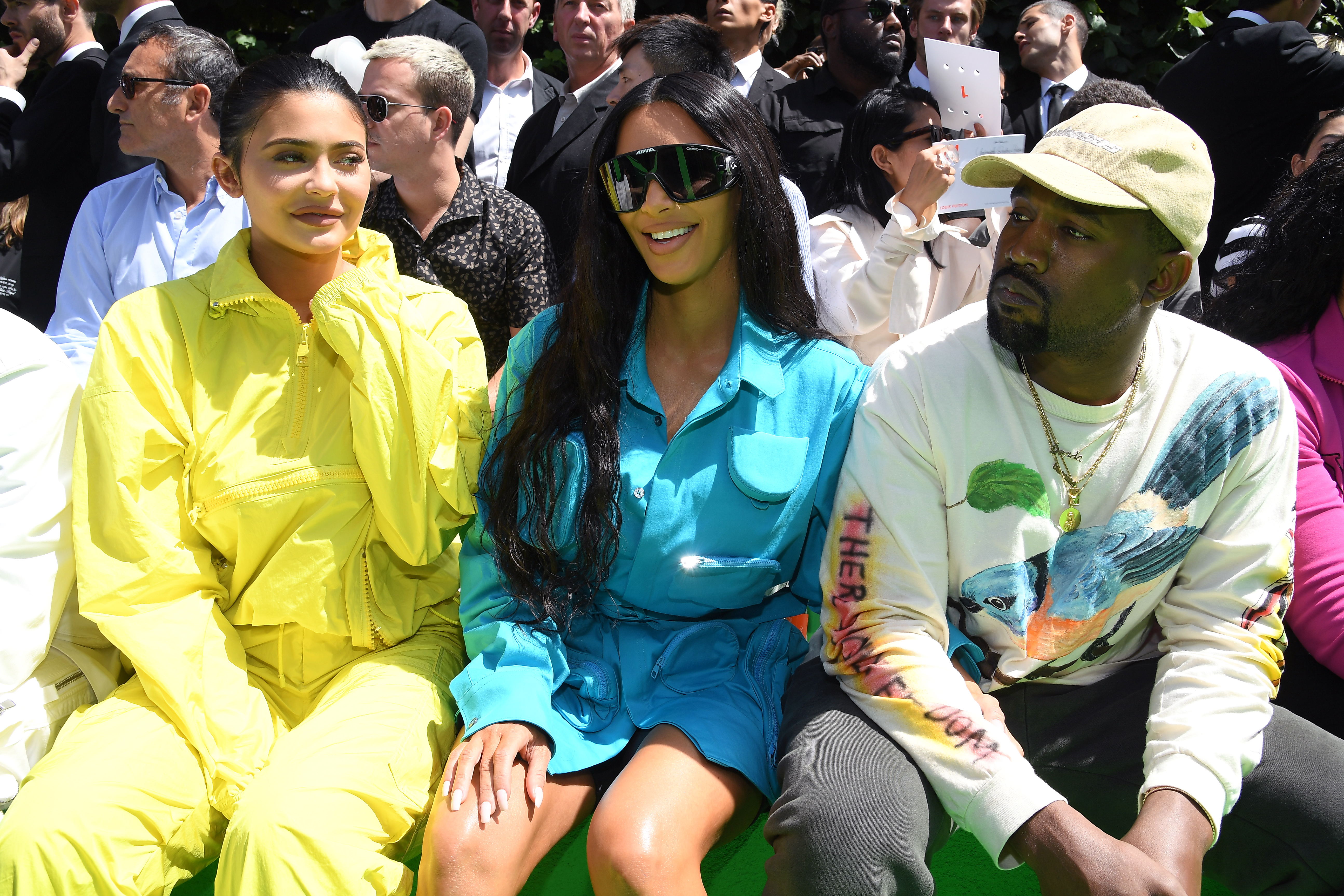 Kylie Jenner, Kim Kardashian, Kanye West